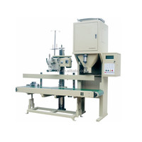 china made PLC control semi automatic powder filling machine 10-50kg
