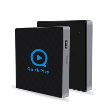 1chip lastest QII TV box Android 6.0 S912 cpu DDRIII 2GB kd player tv box