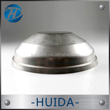 OEM / ODM metal spinning product Metal spinning processing Aluminum metal shade