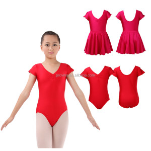 Kids Pretty Comfortable Ballet Leotard with Removable Skirt