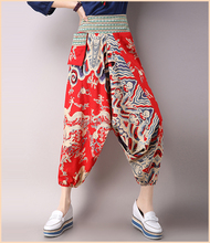 Women High Waisted Harem Salwar Baggy Yoga Gypsy Boho Aladdin Pants