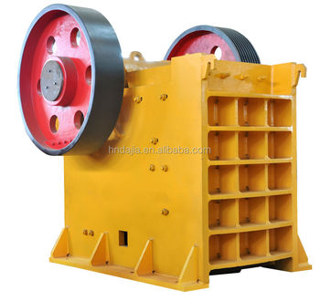 100 t/d dolomite jaw crusher production line