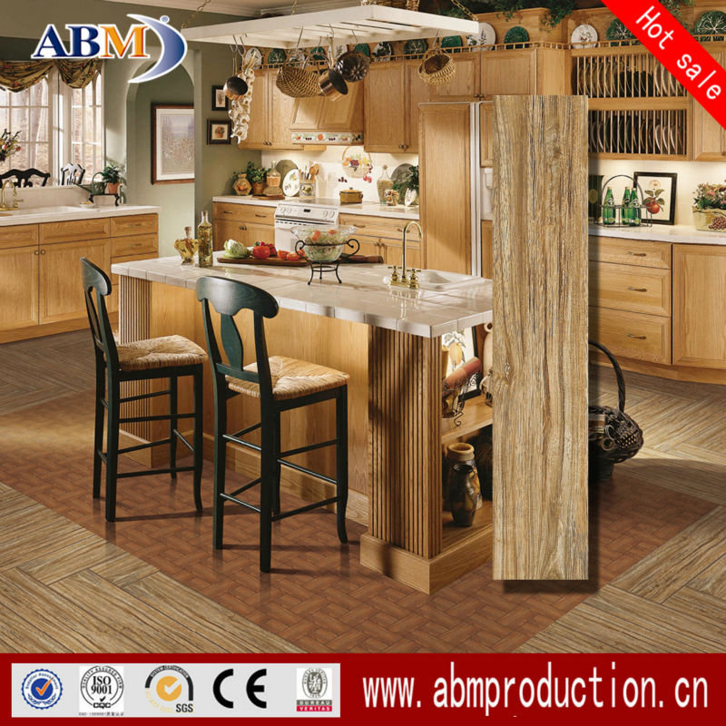 150*800mm 158D0985 Wooden Finish Ceramic Tiles, Bedroom/Kitchen/Bathroom Floor Tile
