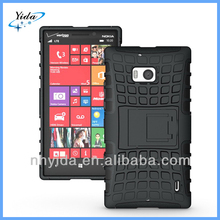 Stand TPU Case For Nokia Lumia 929 Case Black