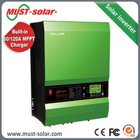 <MUST SOLAR> 2000W to 6000w pure sine wave power inverter 24v 48V 220v