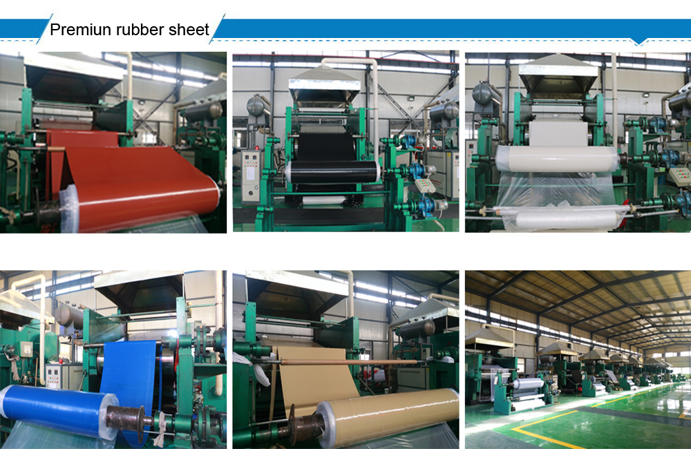 Vulcanized High Stability Excellent Fabric Insertion Rubber Sheets