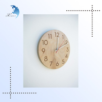 Antique London Style White Mini Digital/Gear Decorative Round/Square Classic Wooden/Wood Pendulum Wall Floor Clock