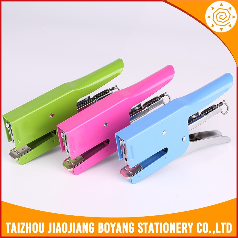 stapler machine custom ,wholesale officestapler set,mini manual stapler for binding