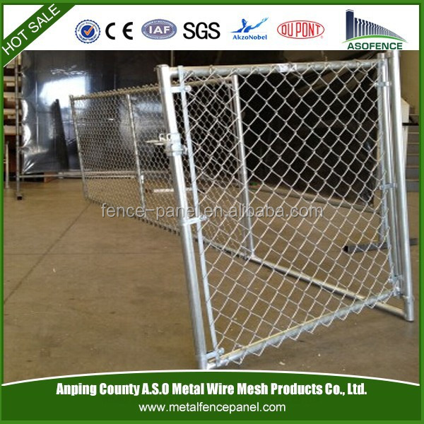 outdoor galvanized steel dog kennel fence panel