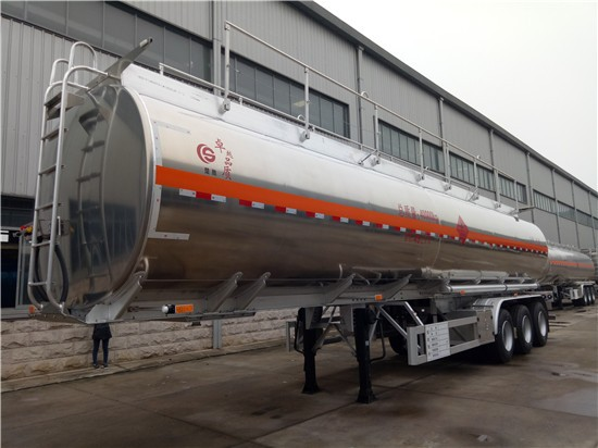 wholesale three axis oil tank transportation tank semi-trailer truck with insulation
