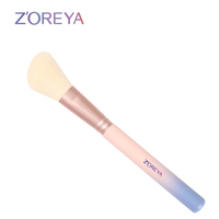 gradual change color blush makeup brush