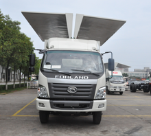 China new foton 4m3 wing opening truck for sale with low price