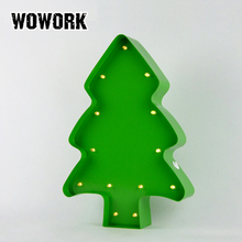 led modern Christmas tree lamps for holiday celebration