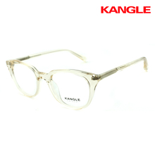transparent glasses clear acetate frame combination eyeglass new spectacle frame
