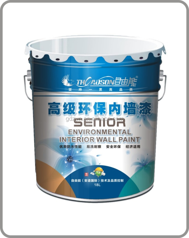 Senior environmental interior wall paint