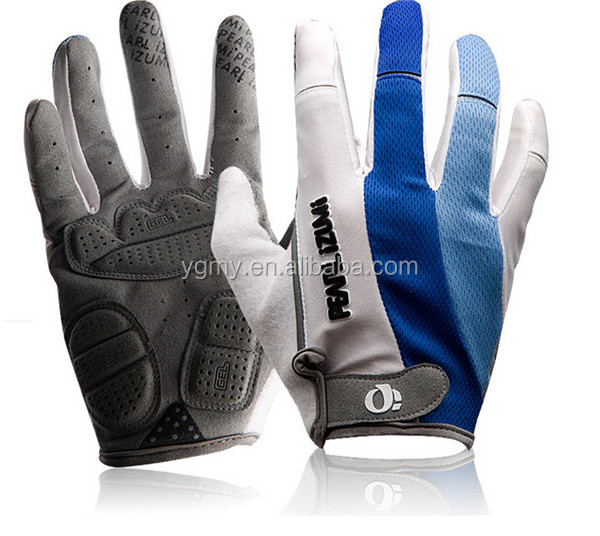 Outdoor Sports Bike Gloves,Shock-Resistant Moisture Wicking Long Finger Bicycle Cycling Gloves