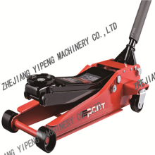 CE Approved Hydraulic Floor Jack / Low Profile Double Pump Floor Jack 3 ton