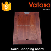Vatasa popular rectangle Eco-Friendly Cheap solid wood cutting boards
