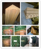 Engineered teak corner moulding from Linyi ATD wood