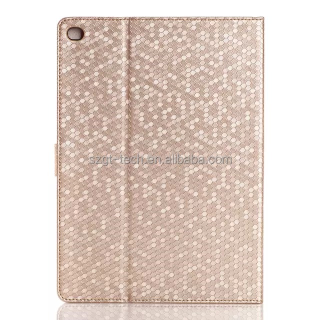 Diamond Bling Sparkly Flip Cover Case for ipad air 2 with wake up /sleep function