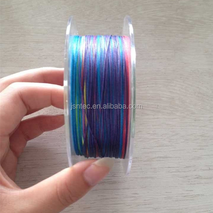 Floating line thin coat 0.14mm PE Braided Fishing Line in 4, 8 strands