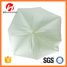Printed Green High Density Polyethylene Garbage Bags On Roll with logo