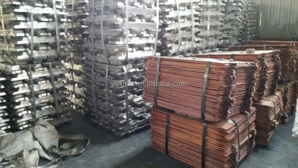 Sell 99.99% copper cathode with high grade (G89)