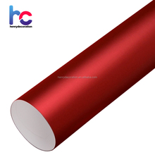 Factory Price 1.52*20m New Style Chrome Matte Wine Red Car Wrap Vinyl