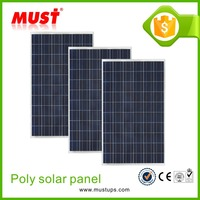 MUST Cheap High efficiency and best price poly 250w 100w solar panel price