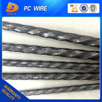 4MM HIGH TENSILE SPIRAL RIBBED PC STEEL WIRE