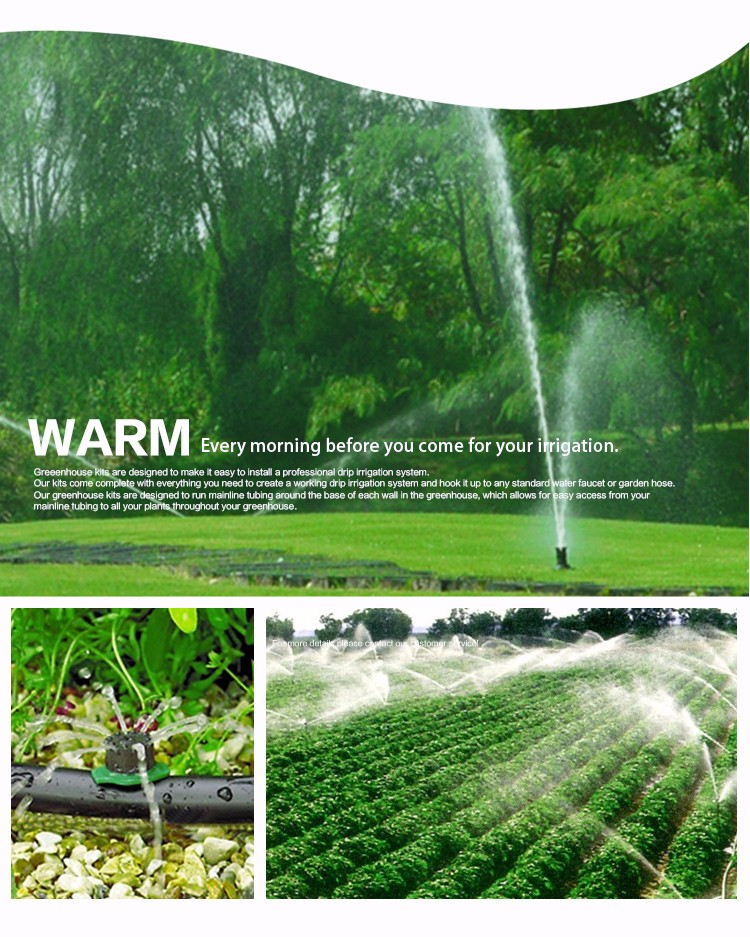 Micro Irrigation On Line Dripper Sprinklers Drip Emitter