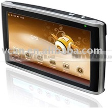 "7 "" gps mediatek mt3351 7 inch TFT Touch screen GPS Navigation With bluet"