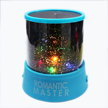 Hot Sale Rotation Romantic Room Lamp Cosmos Starry Star Night Light Sky Projector USB Home Decoration Great Gift Baby Care