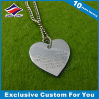 custom metal letter tags small jewelry tags letters engraved dog tags