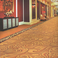 Hotel Wall to Wall Machine Woven Axminster Carpet Design