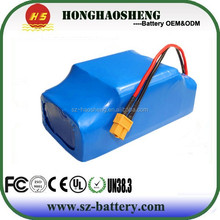 Rechargeable lithium ion 10s2p 36v 4.4ah li-ion battery pack for swingcar/twist twist car