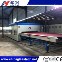 CE certificate advanced heating automatic flat mini glass tempering furnace