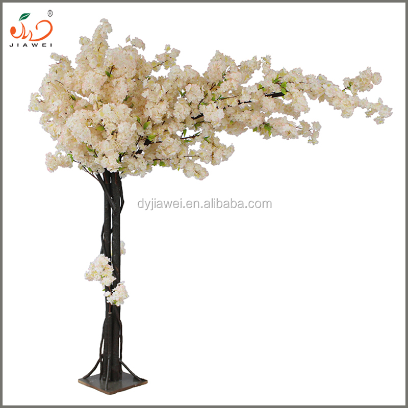 artificial cherry blossom flower tree weeding decoration