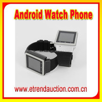 1.54 Inch MTK 6577 Dual Core 3G WCDMA Bluetooth Cell Phone Watch Mobile Android