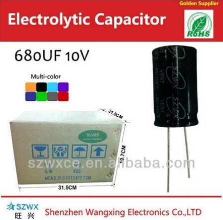 dc pulse generator 680uf 10v epcos capacitor made in China