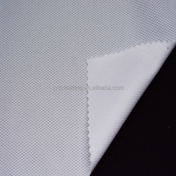 tear risitant jersey fabric for polo shirt, knited polyester sportswear fabric