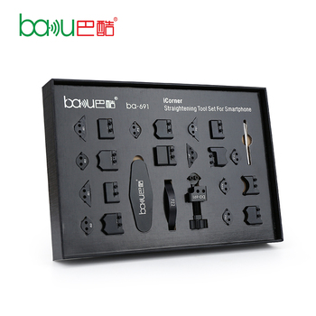 BAKU New Products ba-691 iCorner Straightening Tool Set for Smartphone