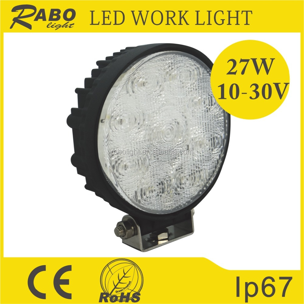 Auto part Square led work lights for tractor, forklift, off-road, ATV, excavator, equipment