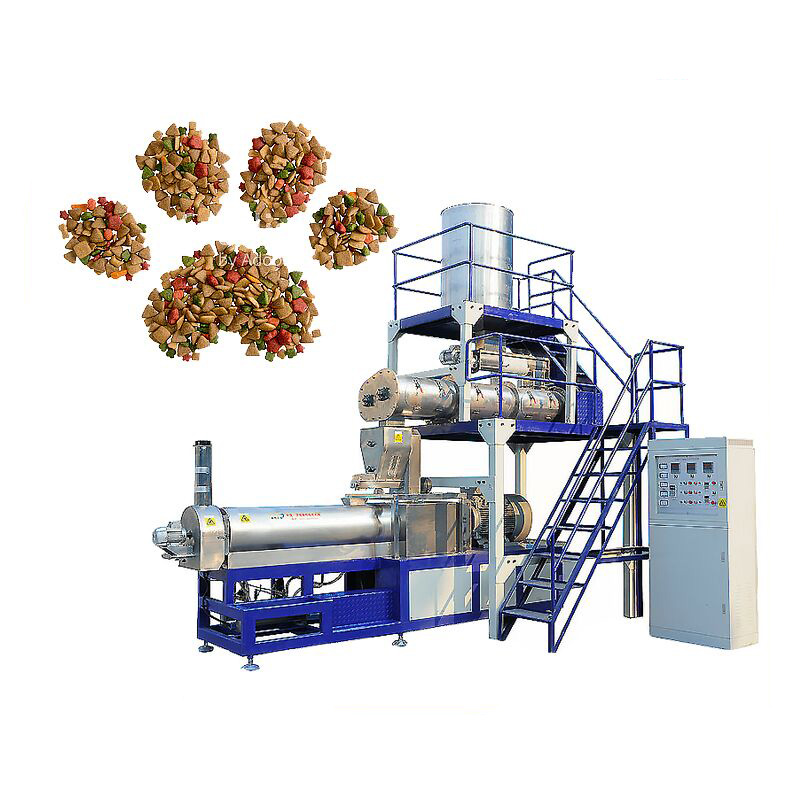 Custom extrusion pet food machine, animal food production line/pet food making machine/dog food
