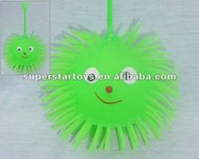smile face puffer ball, puffer ball with yoyo