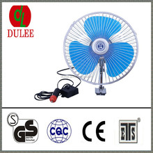 DC 24V 8inch auto car fan protable car cooling fan lowest price for truck and bus oscillating car min fan