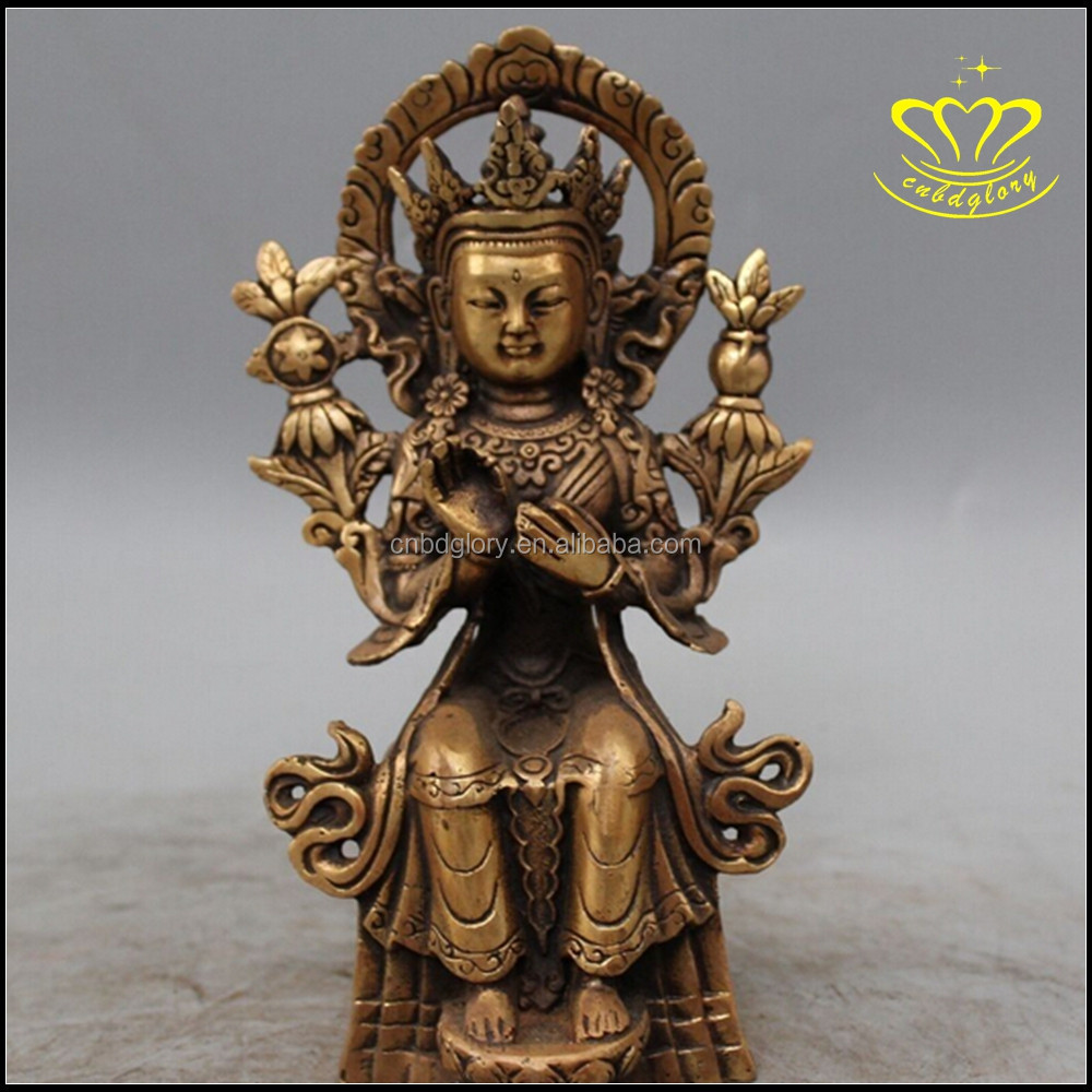 Hindu God Lord Shiva in Meditation Bronze Figurine Sculpture Statue