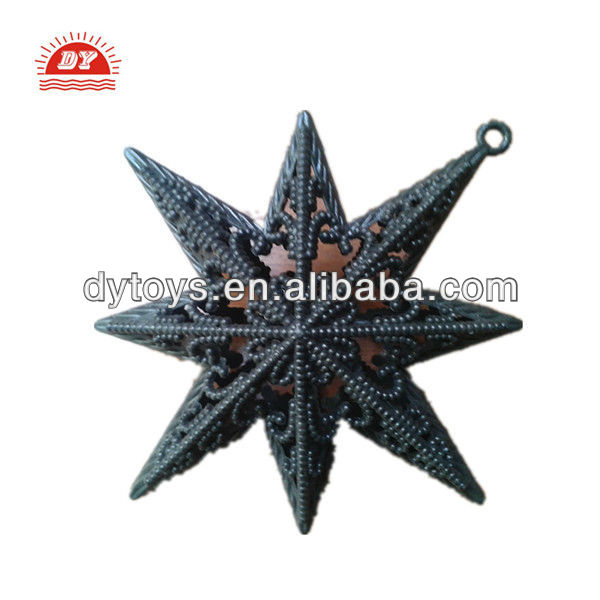 plastic Christmas tree decoration star toys