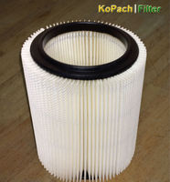 SINGLE CRAFTSMAN RED LINE / RIDGID WET/DRY VAC FILTER REPLACEMENT (FILTER ONLY)