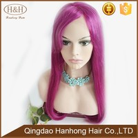 Beautiful Pink Wigs Front Lace Straight Hair Weave For Drag Queen Aliexpress